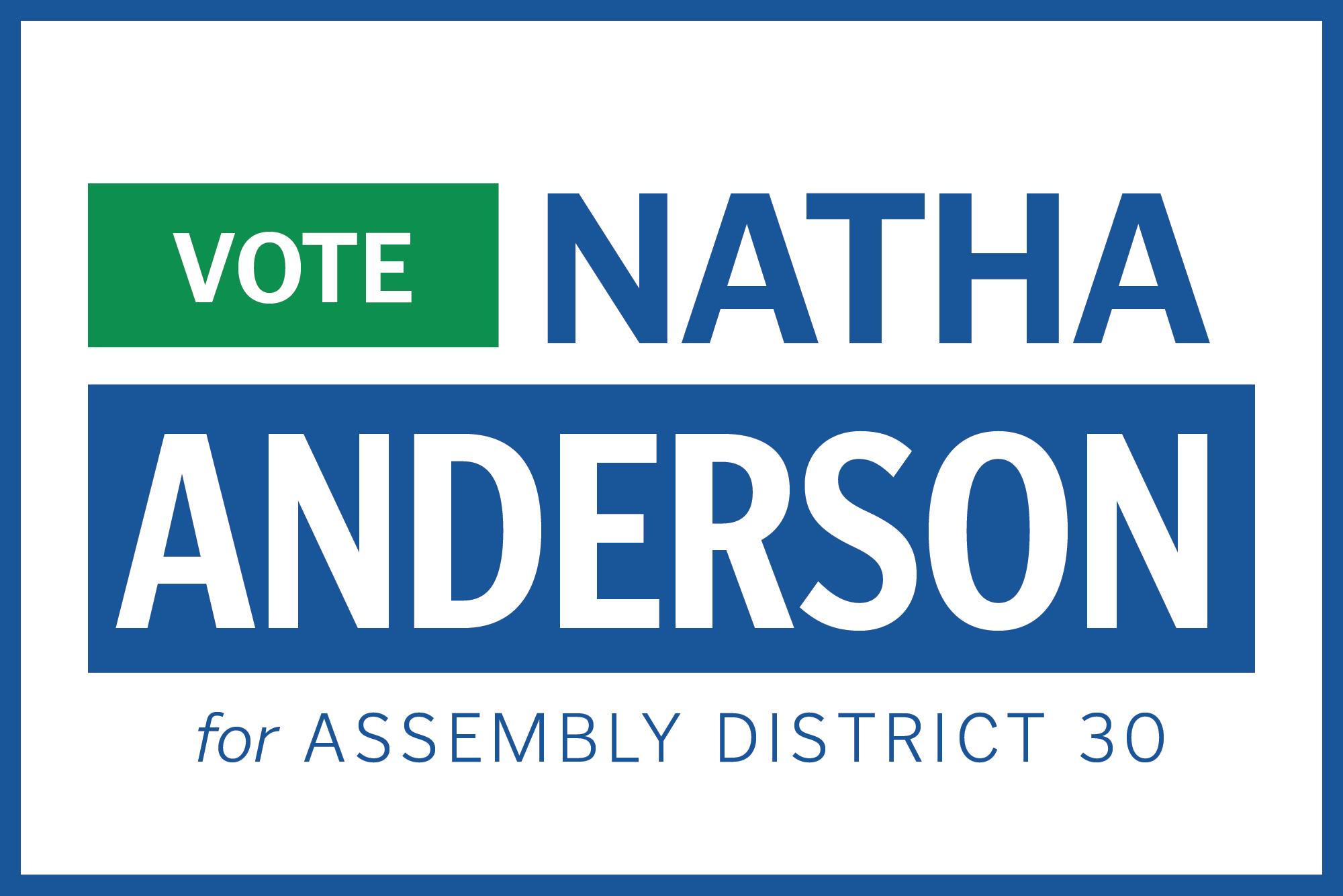 Vote Natha Anderson
